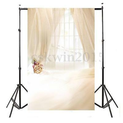 3x5FT Window Curtain Studio Photography Backdrop For Wedding Baby Background