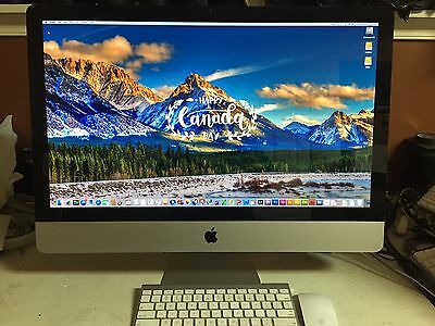 """iMac 27""""  (A1312) 3.1GHz Intel Core i5 - 16G RAM, 1T HD GOOD WORKING CONDITION."""