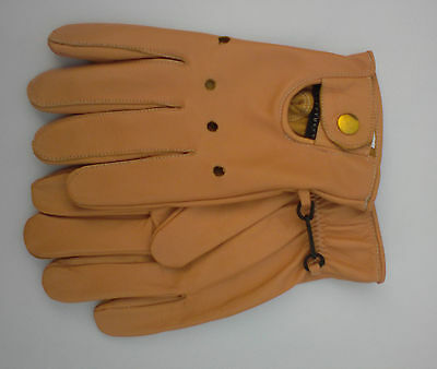 Men's Soft Sheep Leather Gloves Winter Driving Gloves Xl, Fast Delivery