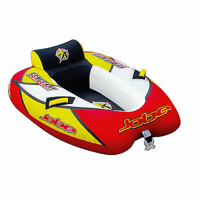 Jobe Sergeant Inflatable Towable Water Ski Tube Biscuit 1 person