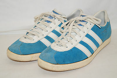 Adidas ATHEN VTG Shoes VINTAGE 70th 38 UK:5 Sneakers West Germany Made