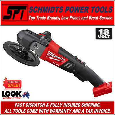 "Milwaukee M18Fap180-0 18V Fuel Brushless Polisher 7"" Cordless Variable Speed"