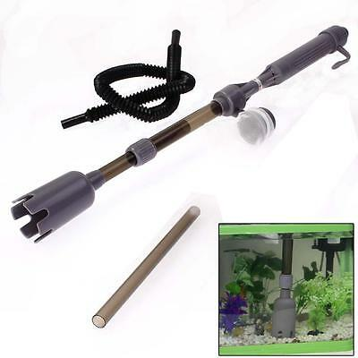 Electric Water Filter Cleaner Siphon Vacuum Water Pump for Aquarium Fish Tank A`