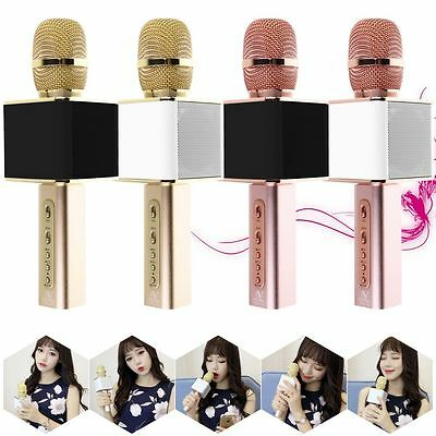 Mini Karaoke Wireless Bluetooth Microphone&Speaker Singing Machine Player Mic