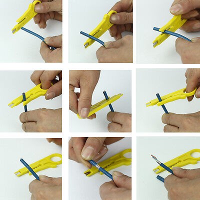 Wire Stripper Knife Pliers Crimping Electrical Cable Crimper Cutter Classy Tool