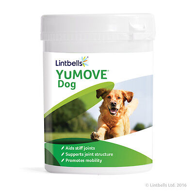 Lintbells YuMove Joint Support Supplement Stiff Old Dogs Glucosamine 300 Tablets