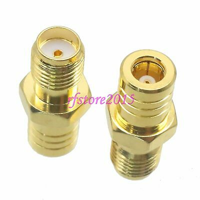 1pce Adapter Connector SMA female jack to SMB female jack for Antenna router