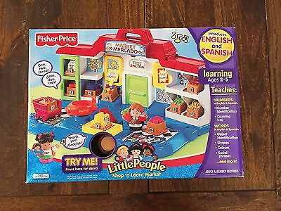 Fisher-Price Little People -  Shop 'n Learn Market - English and Spanish