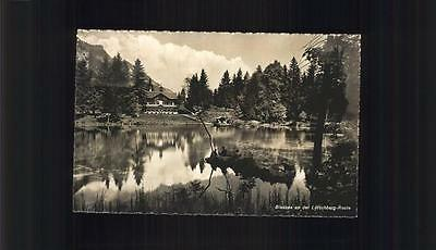 11353659 Blausee BE Partie am See Loetschberg-Route Blausee-Mitholz