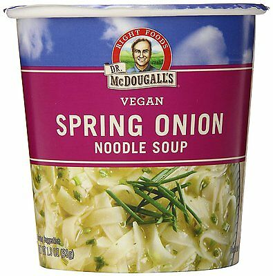 Dr. McDougall's Right Foods Vegan Spring Onion Noodle Soup, 1.9 oz (Pack of 6)