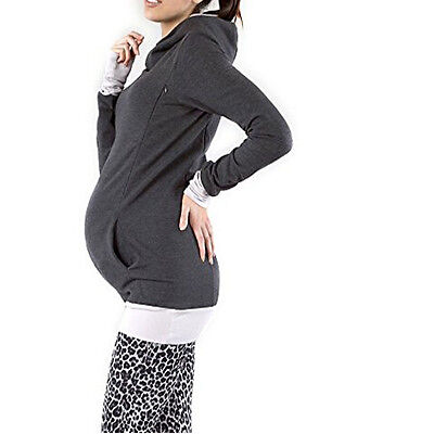 Long Sleeve Maternity Clothes Breastfeeding Tops Nursing Top Women T-shirt S-3XL