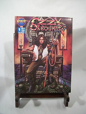 OZZY OSBOURNE COMIC BY ROCK IT COMIX Dec 1993 heavy metal music comic