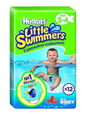 Huggies Little Swimmers Disposable Swimpants (Packaging  May Vary), Small, 12-Co