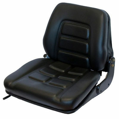 NEW Seat GS12 PVC Forklift seat Tractor seat Tractor Seat Backhoe seat Forklift