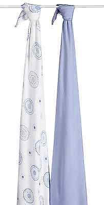 aden + anais Silky Soft Swaddle 2 Pack, Beau