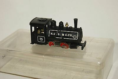 009 HOe Narrow Gauge Roco Minitrains(?) Baldwin Saddle Tank 5 SPARES or REPAIR 2