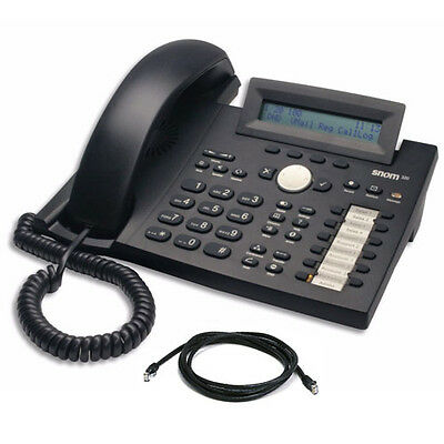 Snom 320 SIP IP VoIP Telephone *Grade A* With Warranty & Free Delivery Incl VAT
