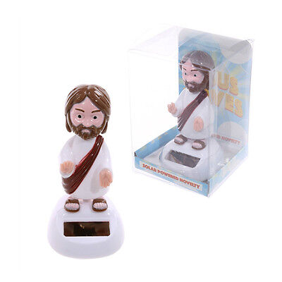 Dancing Jesus Christ With Solar Cell Sun Powered Funny Novelty Gift Christian