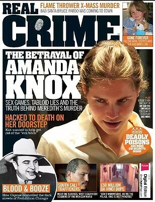 REAL CRIME Magazine Issue 18 - Flame Thrower - X-mass Murder - Sex Games