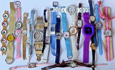 Vintage Wristwatch Lot Resale Job Lot Seiko XMas Endura Timex Nine West Armitron