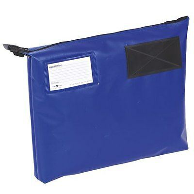 VAL-U-MAIL MAILING POUCH 470x336x76mm PVC COATED NYLON IN BLUE