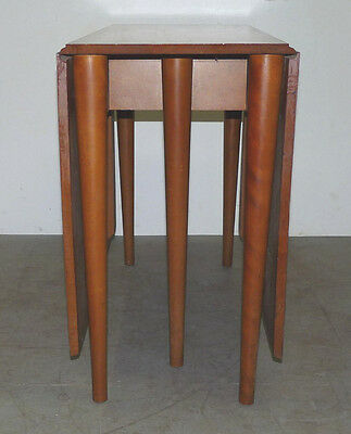 Vintage Conant Ball Drop Leaf Dining Table Mid Century Modern Russel Wright