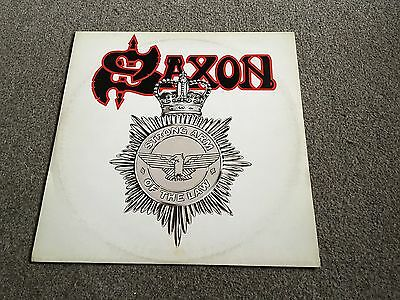 "Saxon - Strong Arm Of The Law - 1980 12"" Single - Lots More Nwobhm In My Shop!!"