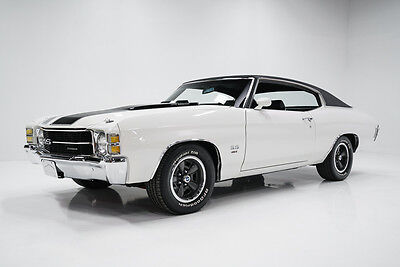 1971 Chevrolet Chevelle SS 1971 Chevrolet Chevelle SS LS5 Restored Factory A/C Car Documented w/Build Sheet