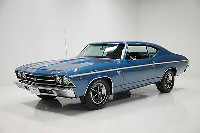 1969 Chevrolet Chevelle SS 1969 Chevrolet Chevelle Restored w/427 CI V8, 700R4, PS, PB, & Factory Air!