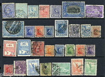 URUGUAY Old Mint Hinged & Used x30 from old album [N321
