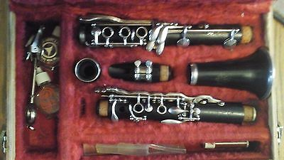 Vintage Wood wind instrument, Double L LeBlanc clarinet serial number 22412 1965