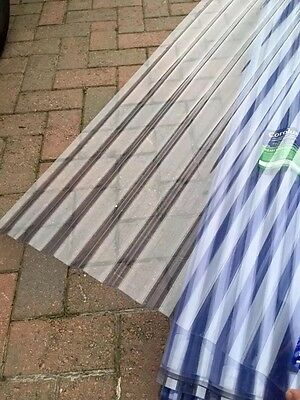 Clear Pvc Corrugated Roofing Sheets 8foot