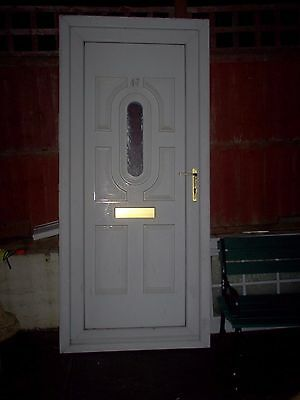 Upvc Double Glazed Front Door And Frame Good Condition