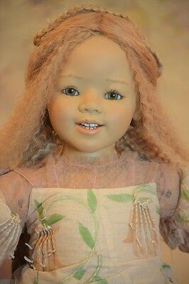 Seinika Annette Himstedt 2006 Atlantis Collection COA doll stand original outfit