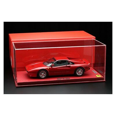 1-18 1985 Ferrari 288 GTO red with display case BBR models P18112v