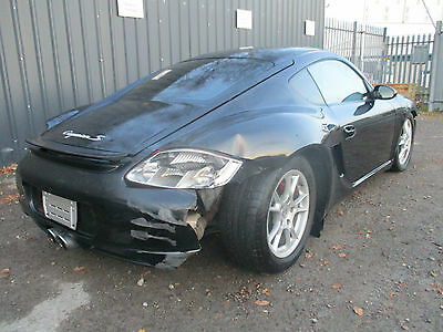 2007 Porsche Cayman S 3.4 6spd LHD unrecorded damaged