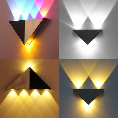 Modern 3W/5W Wall Light Up Down LED Sconce Lighting Lamp Fixture Indoor Outdoor