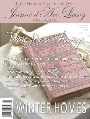 *JANUARY* 2017 Jeanne d'Arc Living MAGAZINE #1 *Vintage/French/Brocante