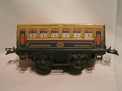 MECCANO/TRAINS HORNBY ech O 1/43,5 - Voiture Pullman Type M