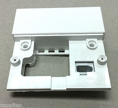 Replacement Faceplate For Nte5A Bt Master Telephone Socket With Screw Terminals