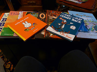 Lot of Mixed Childrens Books (10)   (Just in time for the Holidays)