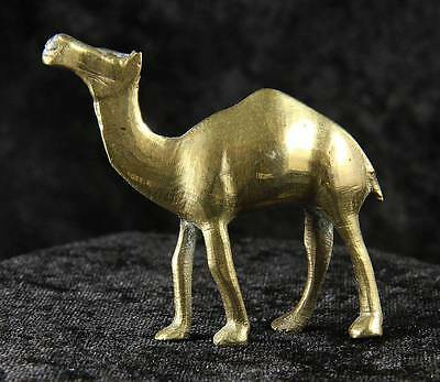 camel x 1 brass 2 inches cake decoration ornament zoo animal desert