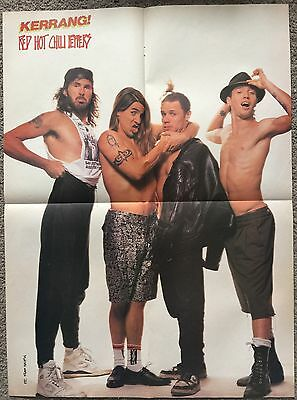 RED HOT CHILI PEPPERS - 1990 foldout Poster