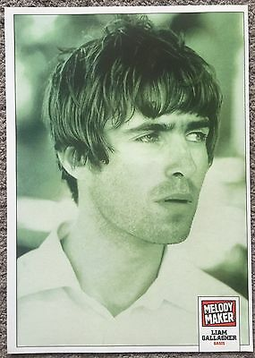 LIAM GALLAGHER - 1999 full page magazine poster OASIS BEADY EYE