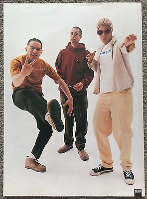 BEASTIE BOYS - full page magazine poster