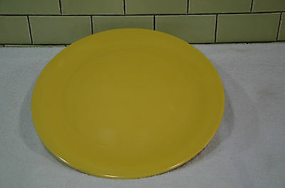 "BEAUTIFUL RARE PACIFIC POTTERY Yellow 13"" CHOP PLATE"