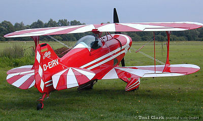 1/2 Scale (50 %) Pitts S-1 104 inch Wing Span    Printed Plans