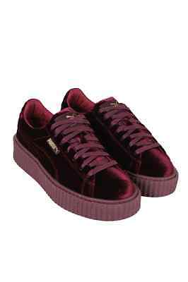 Creeper Velvet Women Burgandy 364466-02 Puma