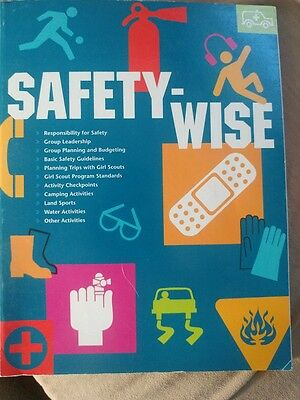 Safety-Wise Girl Scout Program Standards book 2000 Girl Scouts of America