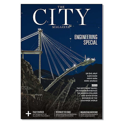 The CITY London magazine October 2016 # 108 Engineering Ove Arup Elon Musk Tesla